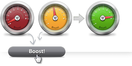 Increase PC performance with one click