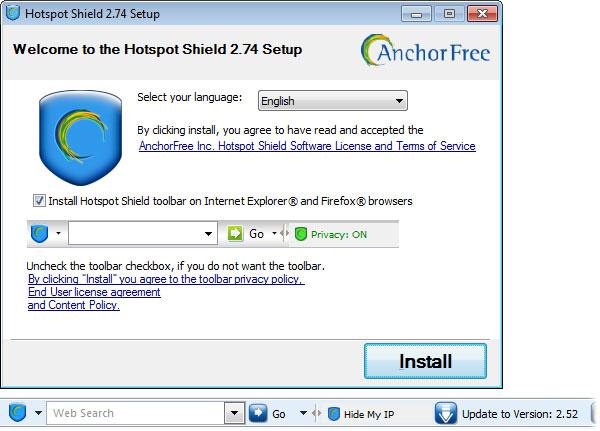 Hotspot shield free internet ni-ho eu