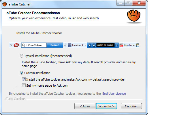 Ask Toolbar Updater Removal